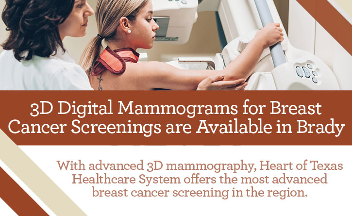 Heart of Texas Healthcare - Mammograms