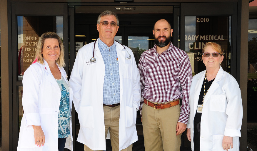 Brady Medical Clinic Physicians